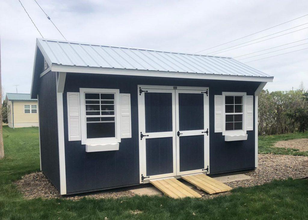 custom quaker shed for sale in Le Mars Iowa
