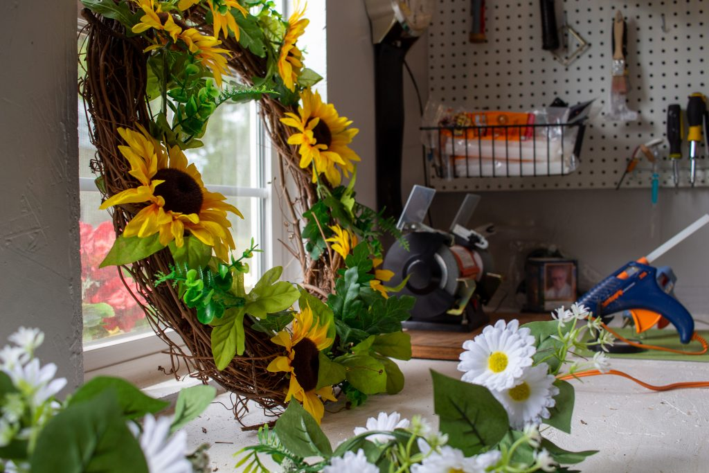 flower arrangements made in custom craft shed for sale in north dakota