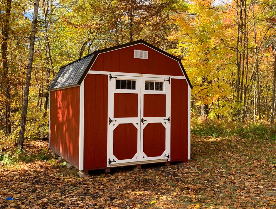 how to winterize a storage shed