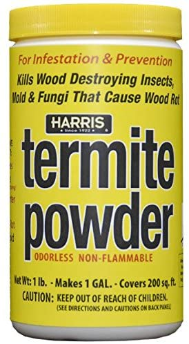 termite control for winterizing a shed