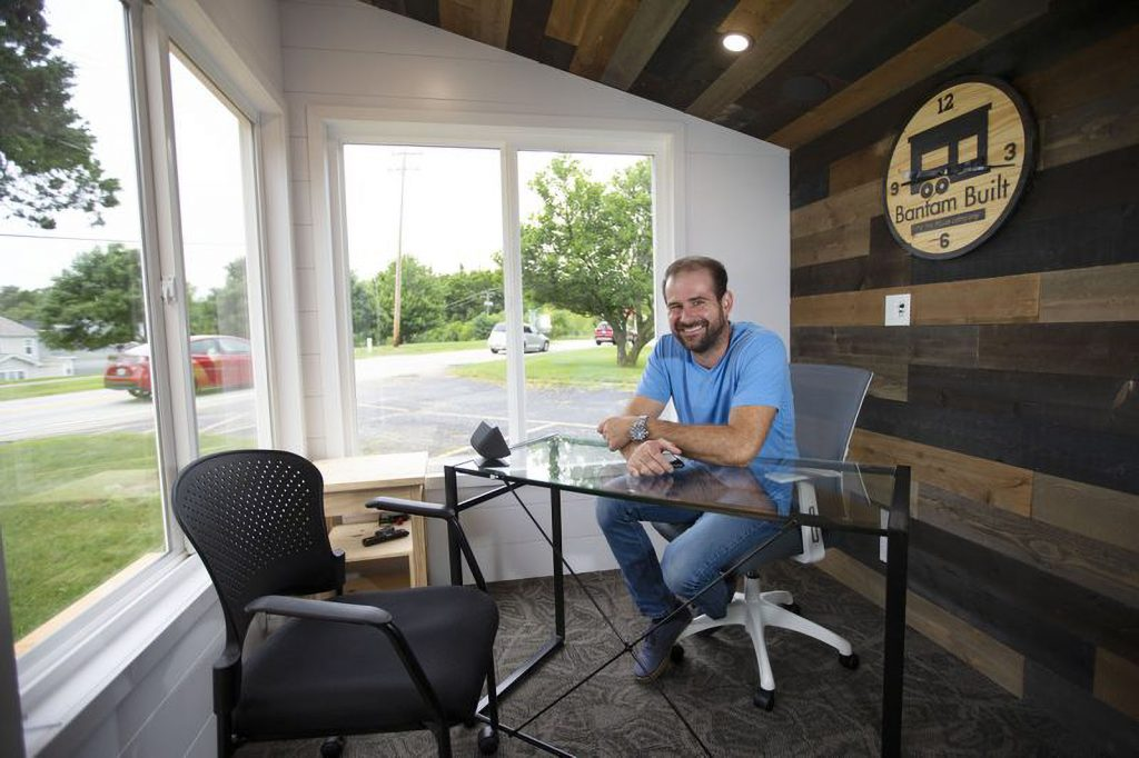 office sheds are perfect for working from home in north dakota