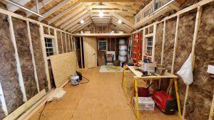 Insulate walls portable cabin for sale minnesota