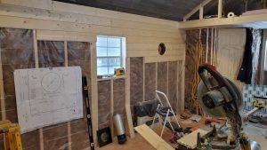finish walls portable cabin minnesota