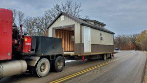portable cabin hauling minnesota