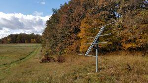 solar install portable cabin minnesota