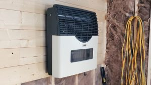 wall heater for portable cabin in minnesota