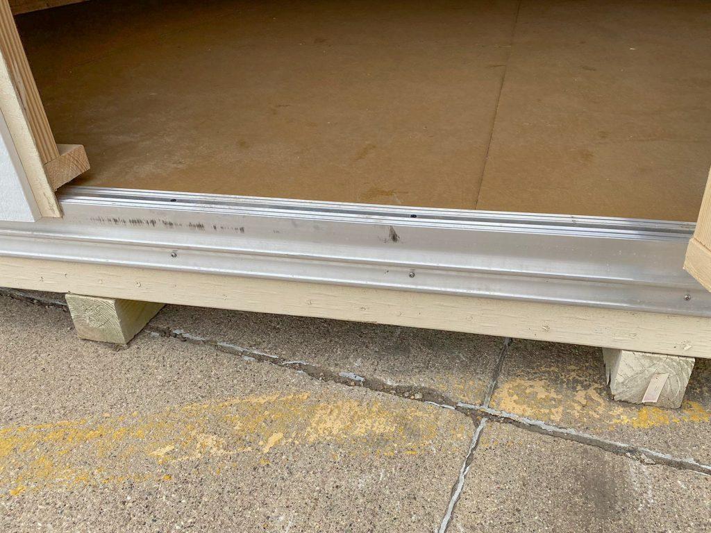 double door tread plate shed options north dakota