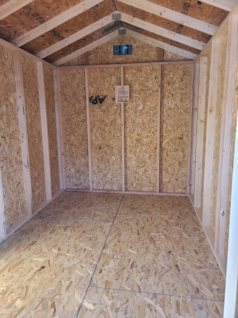 interior of economy ranch 8x12 1