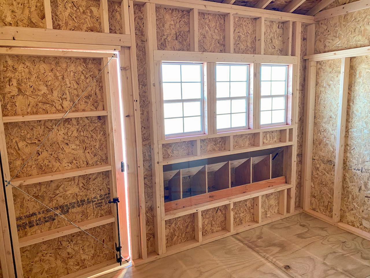 backyard chicken coop for sale in north dakota with nesting boxes