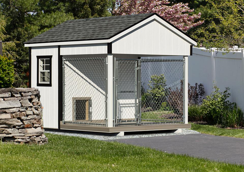Dog kennels for sale in iowa and north dakota with insulated interiors