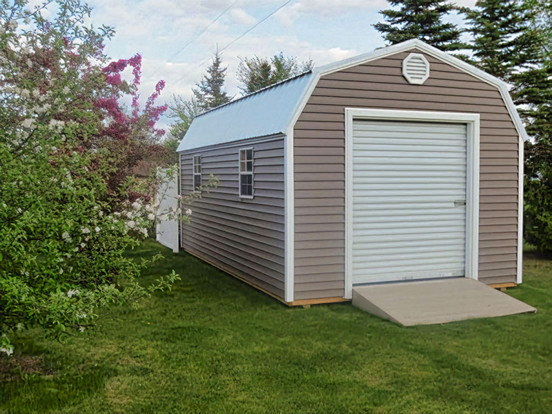 High barn prefab garage shed for sale