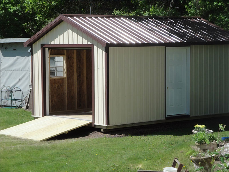 Metal garage shed for sale in north dakota