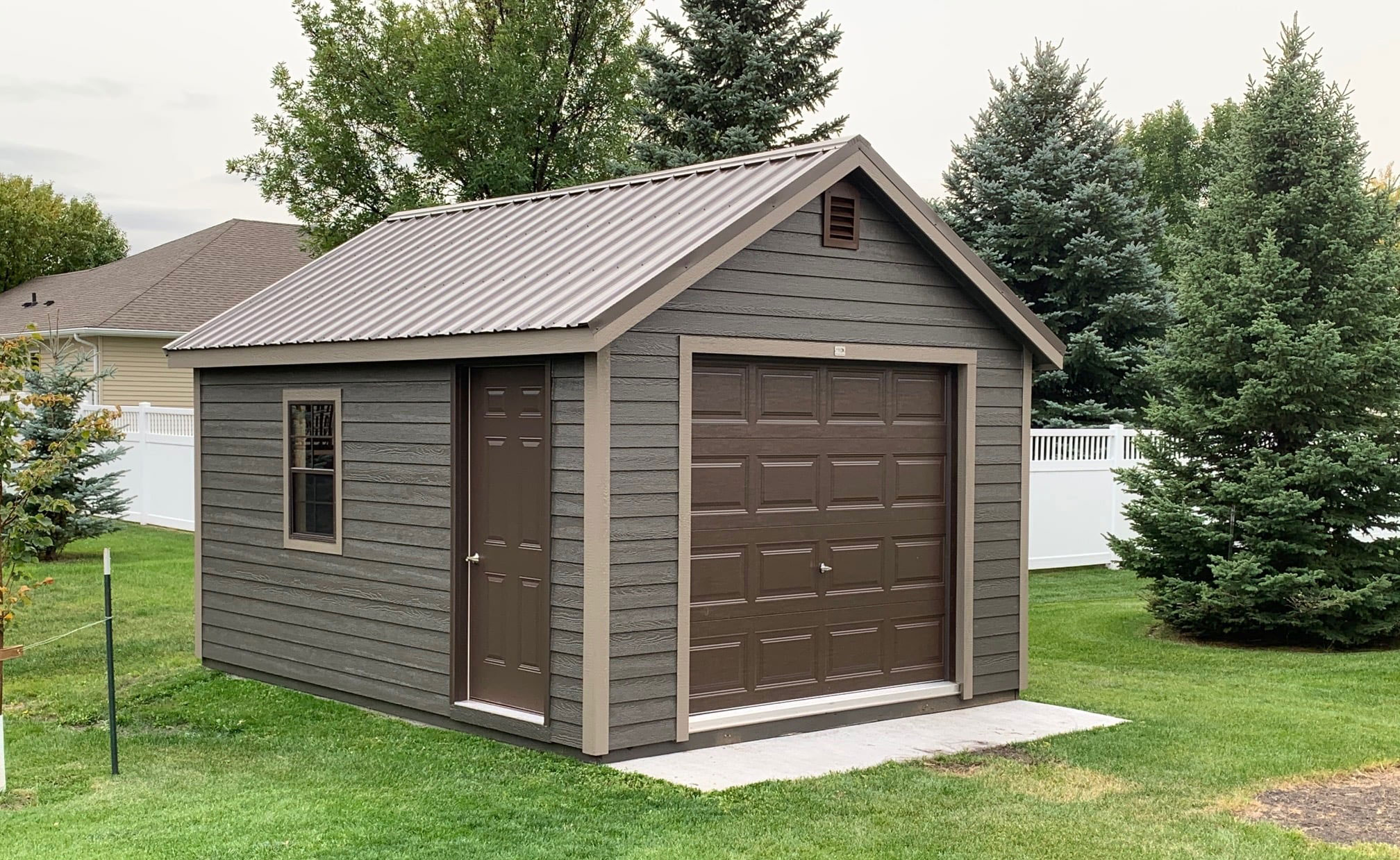 classic prefab garage for sale in north dakota