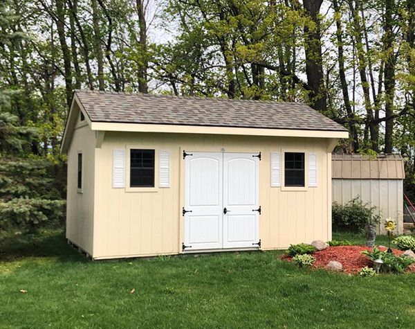 10x16 storage building for sale quaker