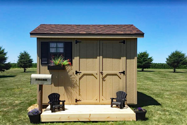 Price of storage shed building in nd