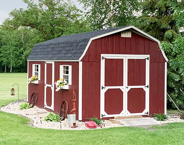 Storage buildings for sale high barn