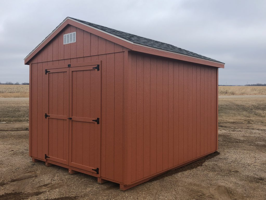 economy ranch wood storage sheds for sale Le Mars Iowa
