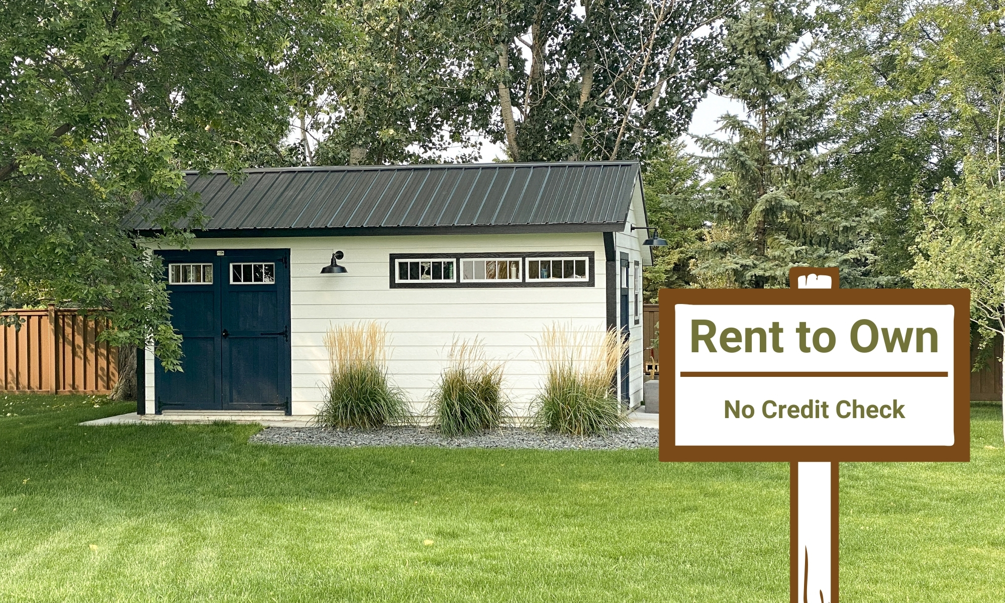 rent to own sheds in north dakota