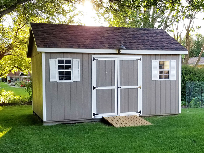 Buy sheds outright as a shed payment option