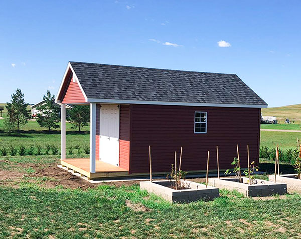Buy shed with porch in north dakota