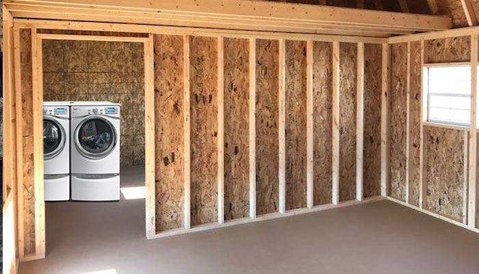 Shed garage idea for homes