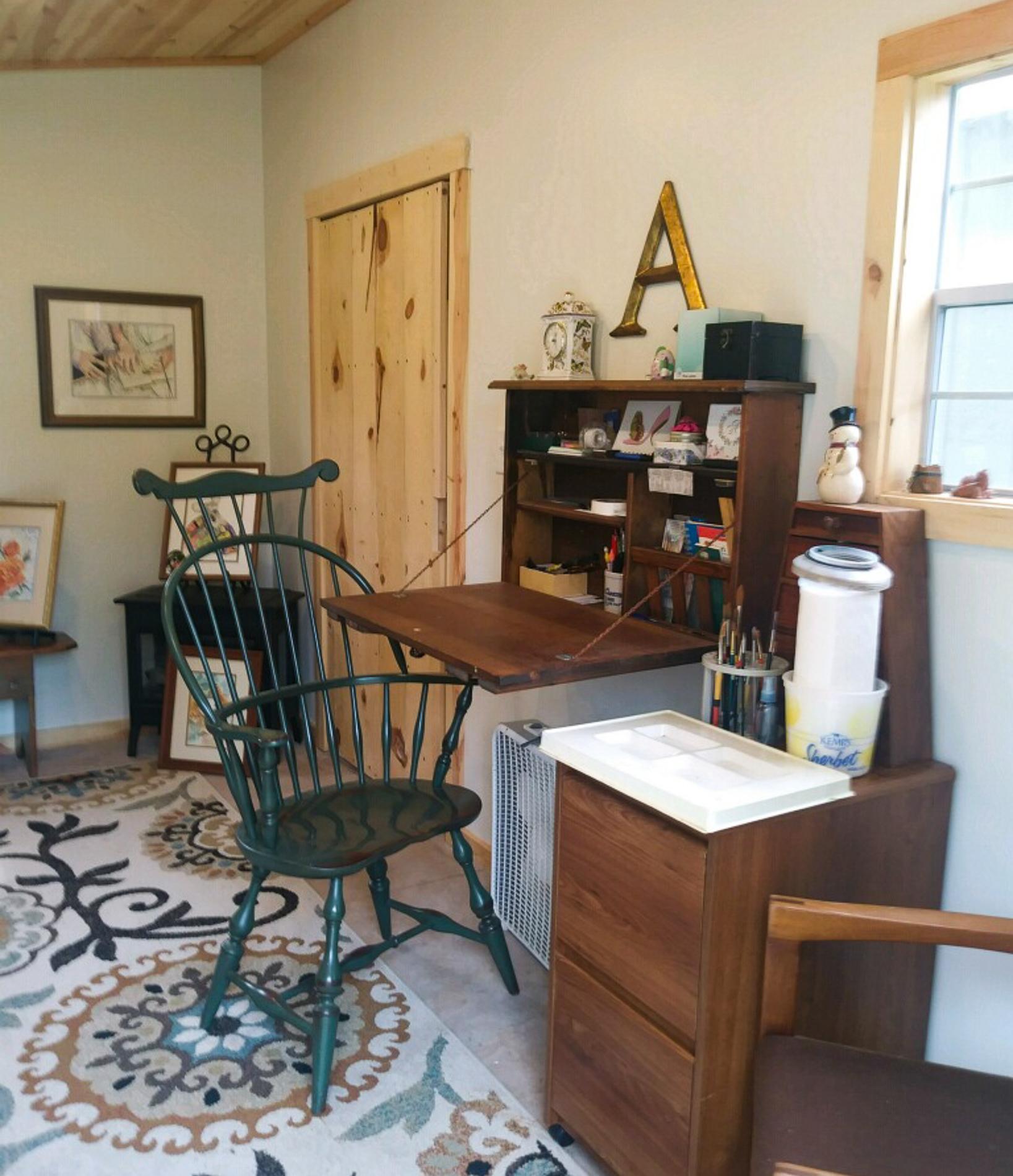 Art studio shed customer usage 3