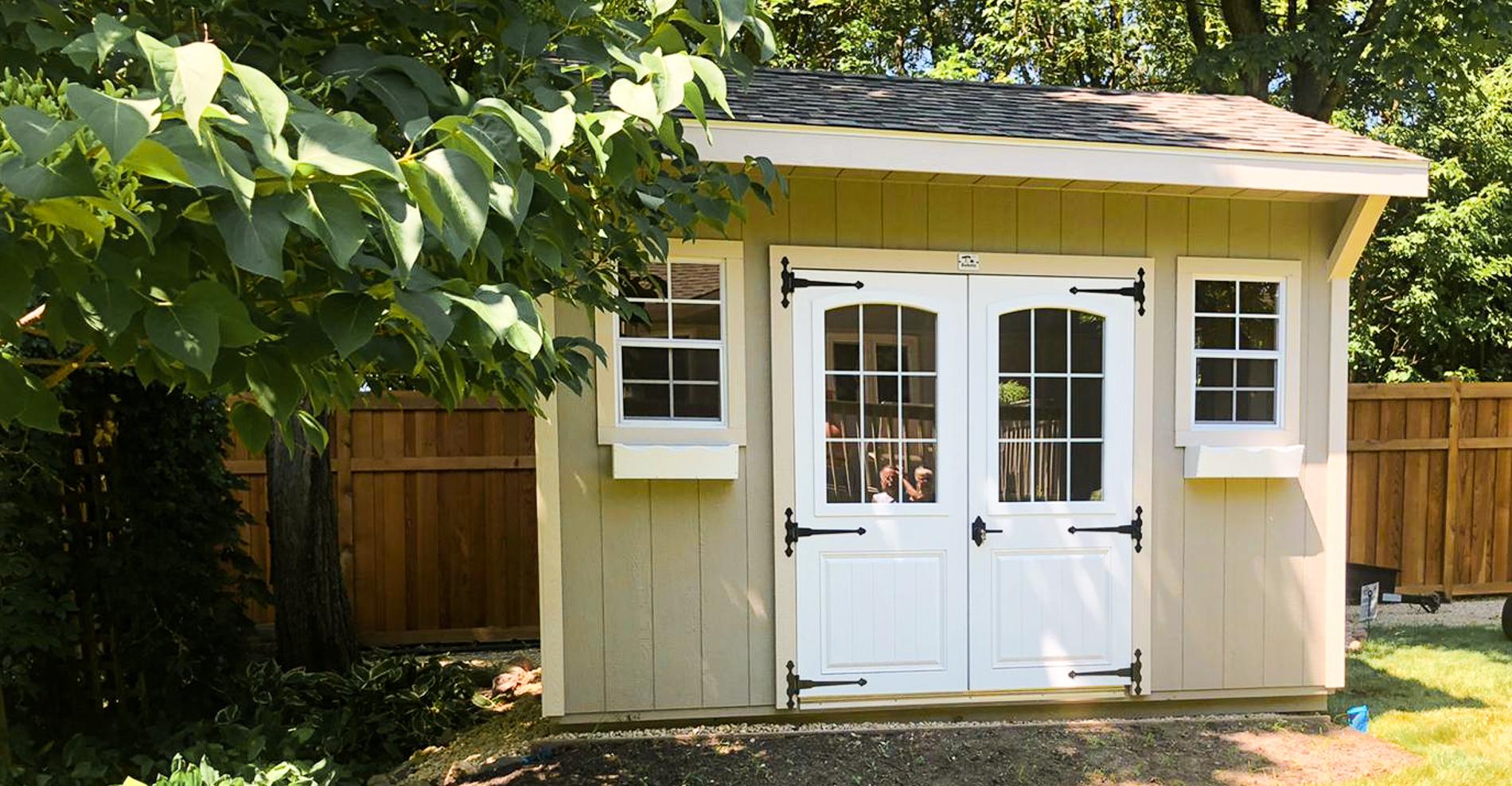 Home studio shed customer usage