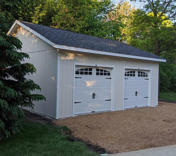 Garage shed idea