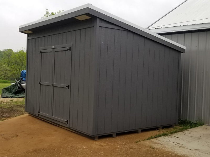 Wood storage sheds for sale in iowa