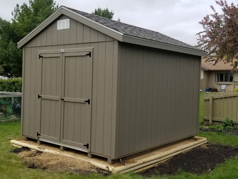 Wood storage sheds for sale in north dakota 2