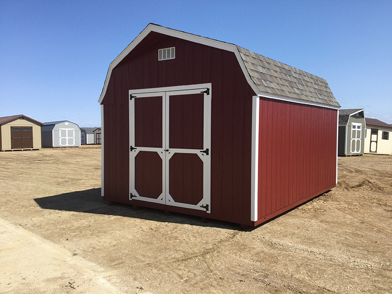 High barn sheds in nd