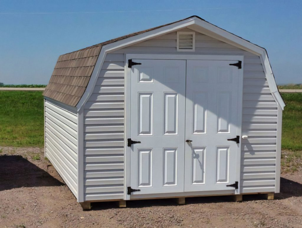 Custom low barn shed for sale