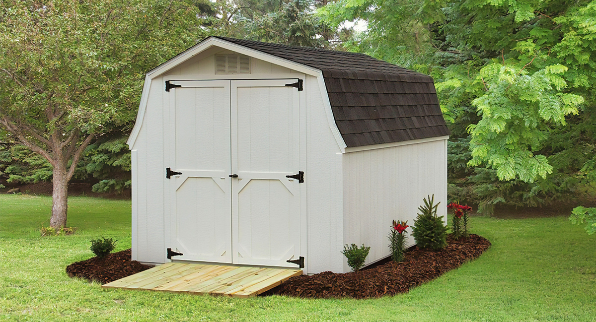 Low barn shed for sale