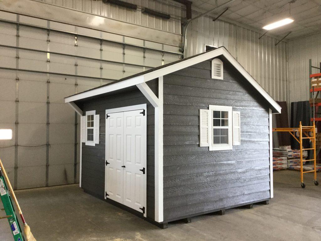 Backyard quaker sheds
