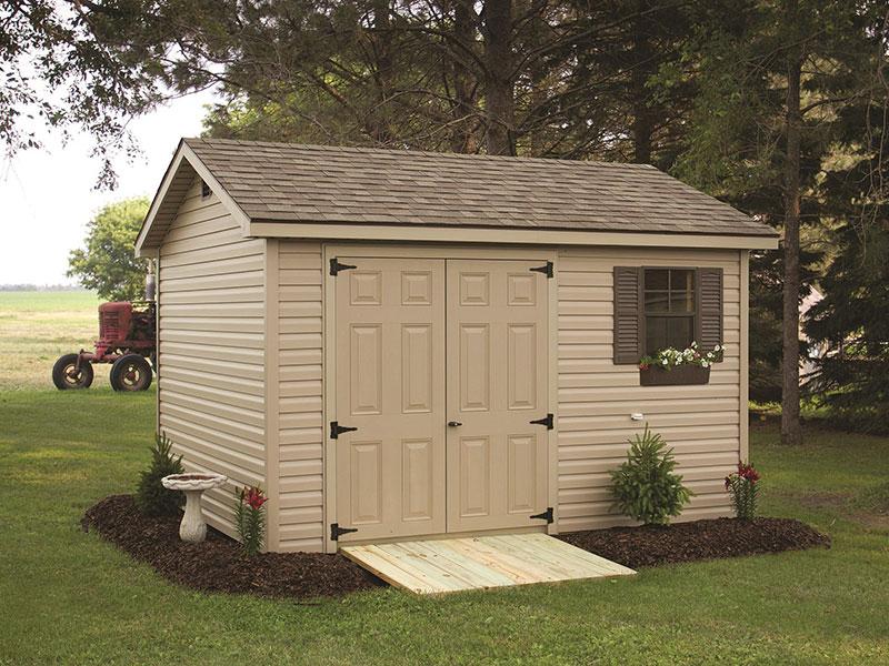 Custom outdoor storage sheds for sale
