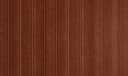 Wood panel siding for studio sheds