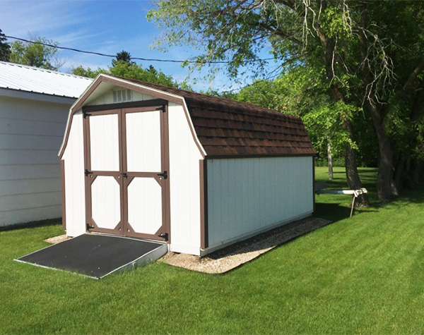 Storage shed for sale low barn