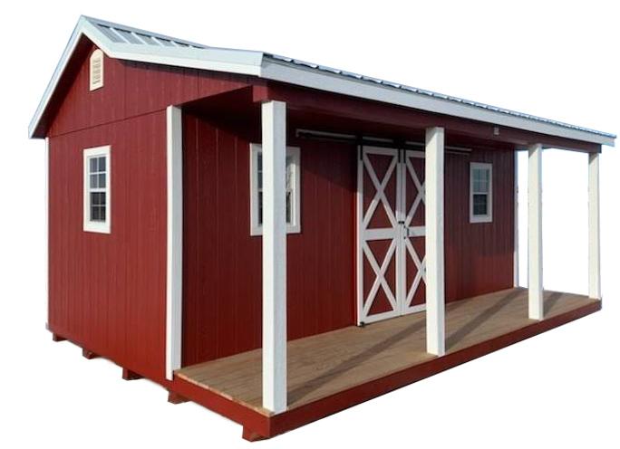 farmhouse porch shed for sale near fargo north dakota 1