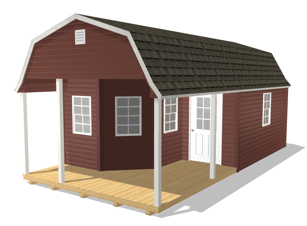 high barn cottage porch shed for sale in 51031